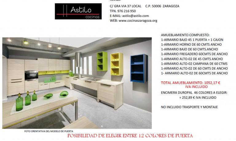 Amueblamiento de cocina por euros cocinas - Cocinas por 2000 euros ...