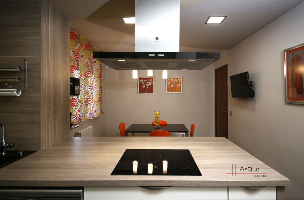 Reforma y amueblamiento de cocina en zaragoza cocinas for Muebles de cocina en zaragoza