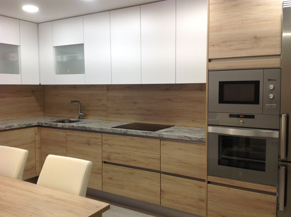 Amueblamiento de cocina en Zaragoza