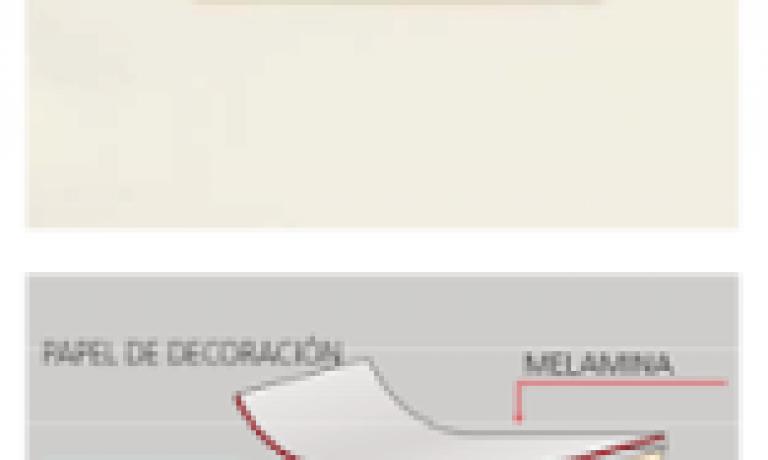 RECUBRIMIENTO DIRECTO DE MELAMINA