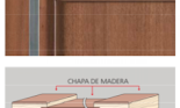 FRENTES DE MADERA NATURAL