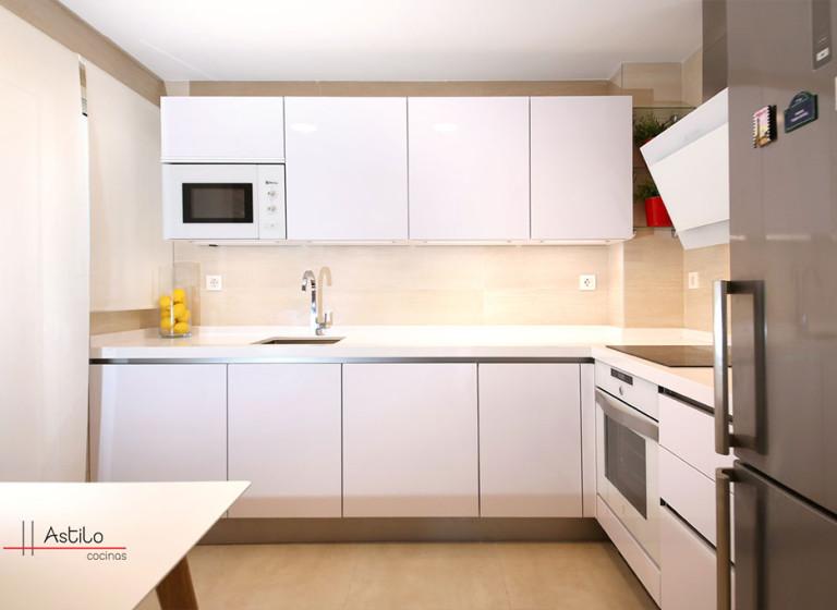 Cocina en Blanco Premium