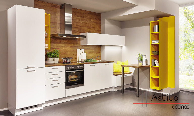 cocinas sin tirador | Cocinas Zaragoza | Astilo Cocinas
